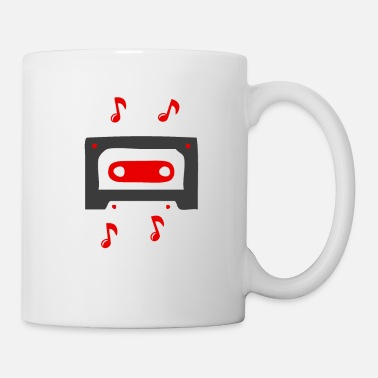 Loud Music sound song cassette according to old school band - Mug