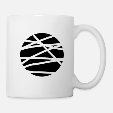 Rectangle cercle - Mug blanc