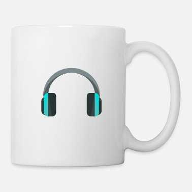 Headphones Headphones headphones - Mug