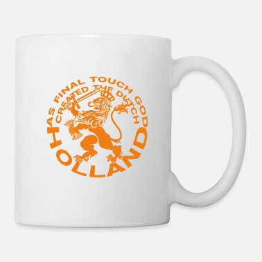 Pennant Dutch Lion - Dutch Lion - Holland - Left - Mug
