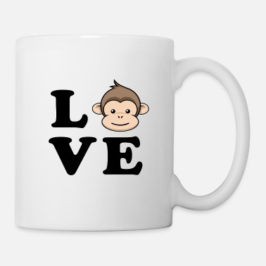 Monkey Love Monkey Dance Monkey - Mug