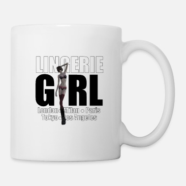 Trend Underwear The Fashionable Woman - Lingerie Girl - Mug