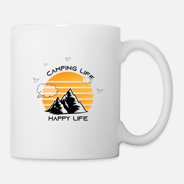 Camp Happy Camping shirt - Mug