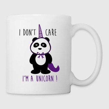i don't care unicorn - Kop/krus