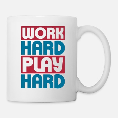 Play Work Hard Play Hard - Mug