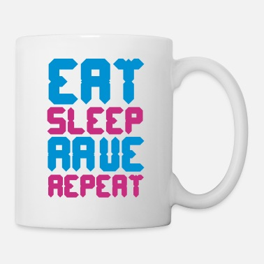 Rave Eat Sleep Rave Repeat - Kop/krus