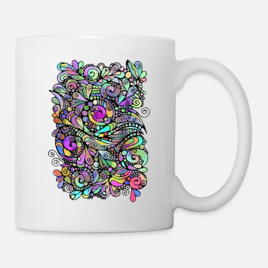 Spiral Abstract Art Neuro Art Spirals 3 - Mug