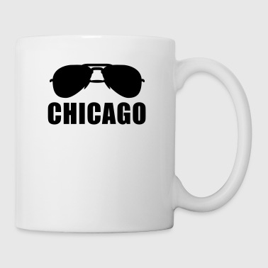Coole Chicago Sonnenbrille - Tasse