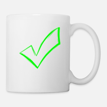 Token Tick checkmark OK icon sent - Mug