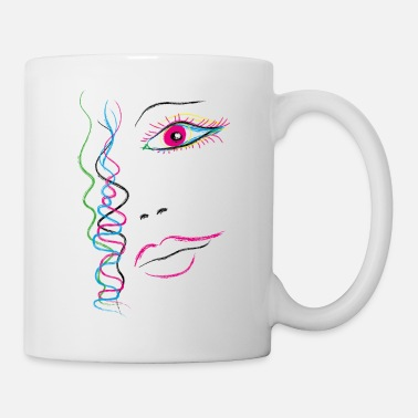 Illustration Illustration Woman - Mug