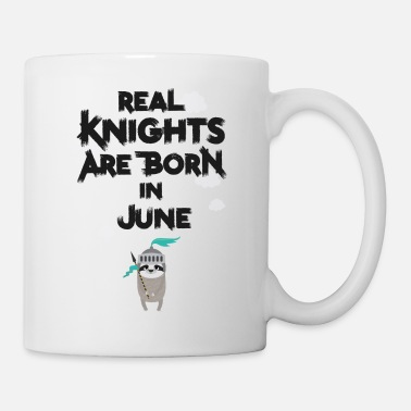 Woman Sloth Knights born in June - Mug
