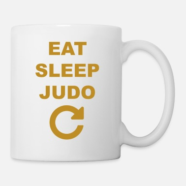Judo Eat sleep Judo repeat - Taza