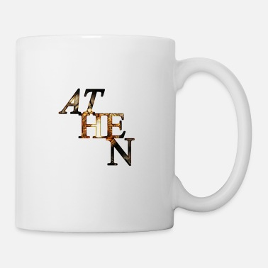 Greek Athens ancient lettering Greek mythology - Mug