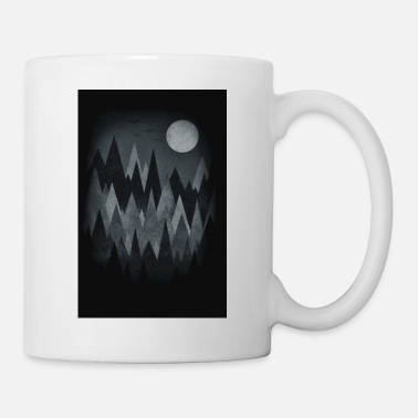 Scary Forest Art (Abstract triangles) Phone Case - Mug