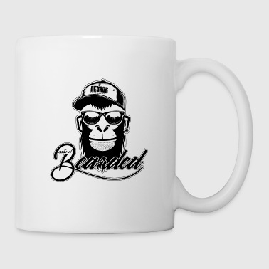 Immer Naturel Bearded Ape Monkey - Tasse