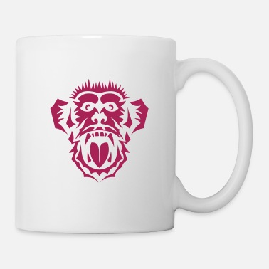 Tribal tribal singe chimpanze 1 5 - Mug