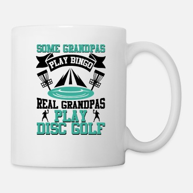 Trendsport Some Grandpas play Bingo Grandpas Play Disc Golf - Mug