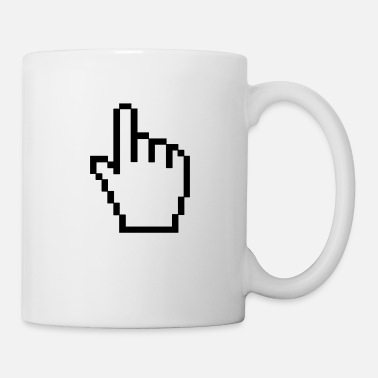 Ordinateur ordinateur main - Mug