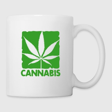 cannabis leaf boxed - Tazza