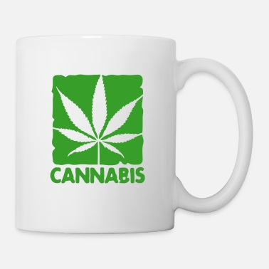 Cannabis cannabis leaf boxed - Tazza