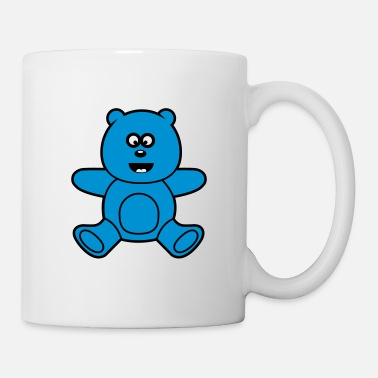 Barn &amp Söt Kawaii Teddy Bear - Mugg