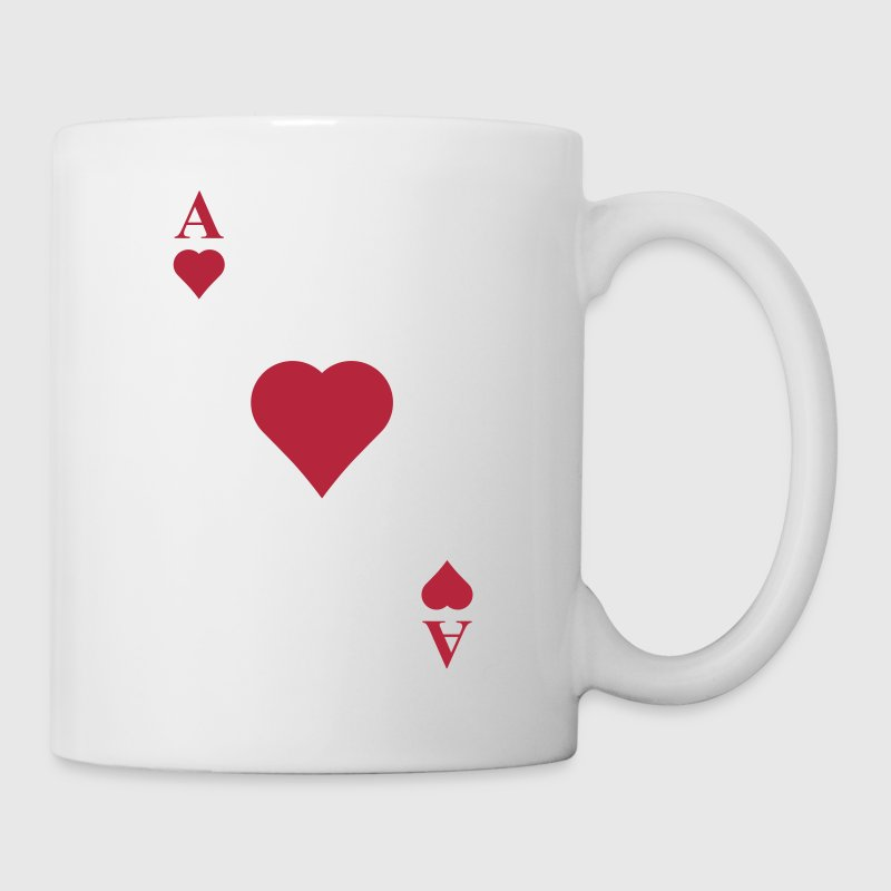 As corazones diagonal - Taza
