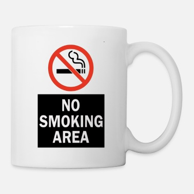 Smoking NO SMOKING - Mug