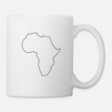 Continent africa outline - Mug