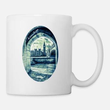 Westminster London the Palace of Westminster and Big Ben - Mug