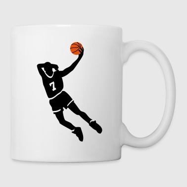 Baloncesto Basketball slam dunk - Taza