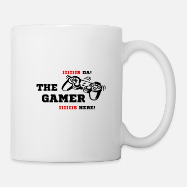 Headphones The Gamer is here! Controller black - Mug