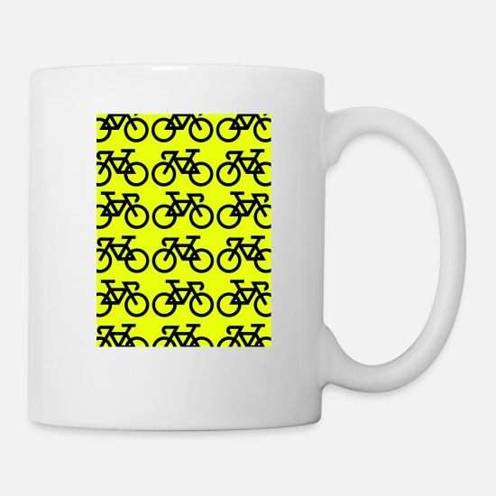 Bicyclette Mugs & Drinkware - Bicycles - Mug white