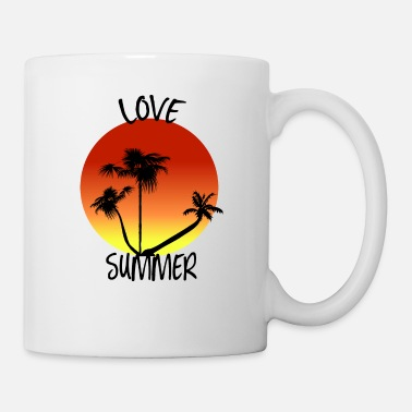 Summer love summer love summer sunset beach - Mug