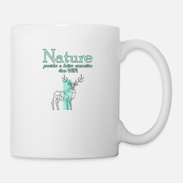 Online Nature WiFi Online Offline Connection - Mug