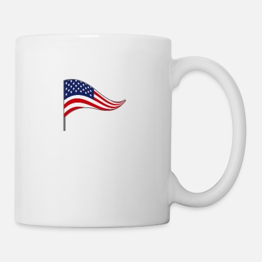 Flag Flag, flag, country flag, flag, USA, America - Mug