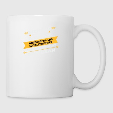 Economic and social statistics worker - Mug