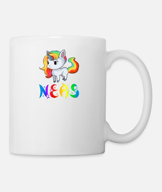 Neas Unicorn Mugs et tasses - Unicorn Neas - Mug blanc