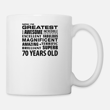 Years greatest awesome superb 70 years 70th birthday - Mug