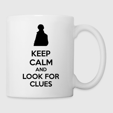 Keep Calm And Look For Clues - Mug