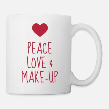 Up Schminke / Make-up / Maskenbildnerin / Mode - Tasse