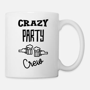 Wein Crazy Party Crew - Alcohol - Alcool - Beer - Bière - Tasse