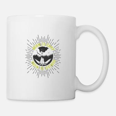 Star Trek Camping born to camp - forced to work - Mug