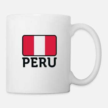 Lake Titicaca National Flag of Peru - Mug