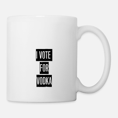 Trash JE VOTE POUR VODKA TUMBLR HOODIE - Mug