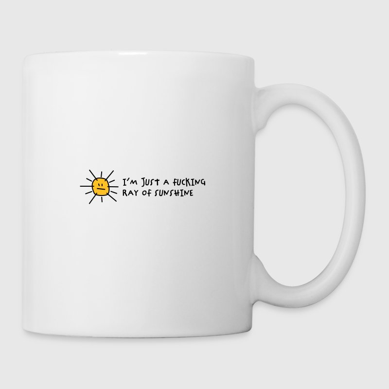I m a fucking ray of sunshine! - Mug