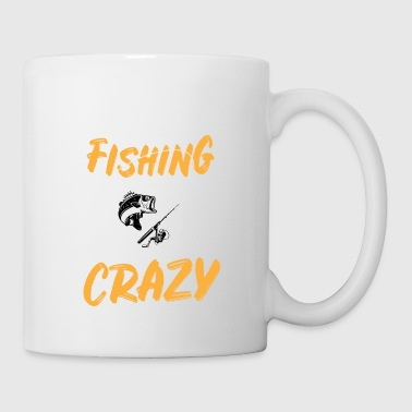 Fishing Beer Weekend Forecast Fishing with A Chance of Getting A Little Crazy - Mug