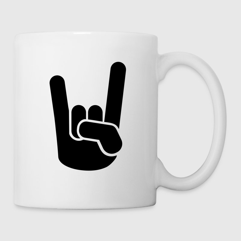 Rock Metal Hand - Tasse