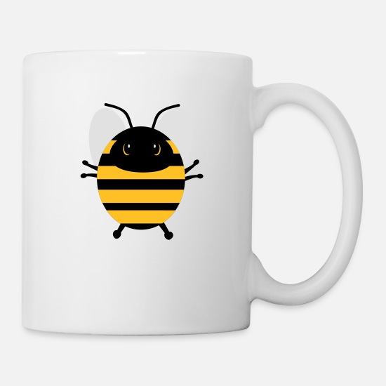 Bumble Bee Mugs & Drinkware - Sweet bee - Mug white