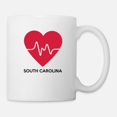 South Carolina Herz South Carolina - Tasse