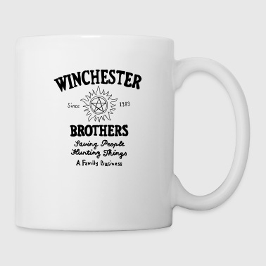 Supernatural Winchester Brothers - Tazza